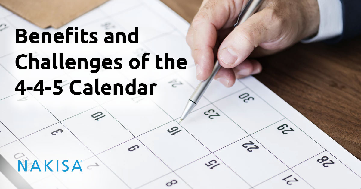 benefits and challenges of the 4 4 5 calendar compliance lease accounting