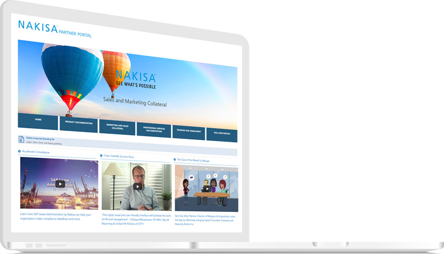 NAKISA GLOBAL PARTNER PORTAL
